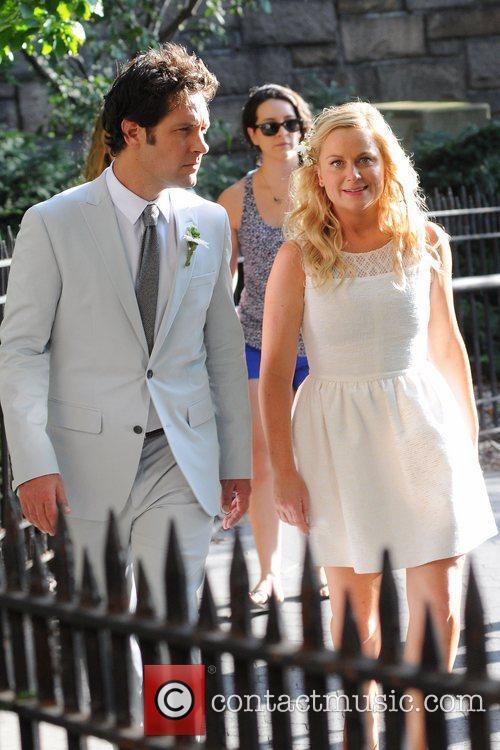 Paul Rudd, Amy Poehler and Brooklyn 12