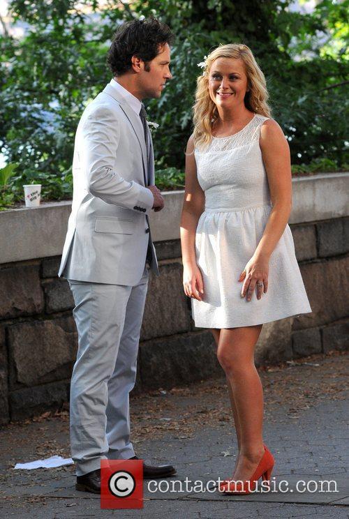 Amy Poehler and Paul Rudd 8