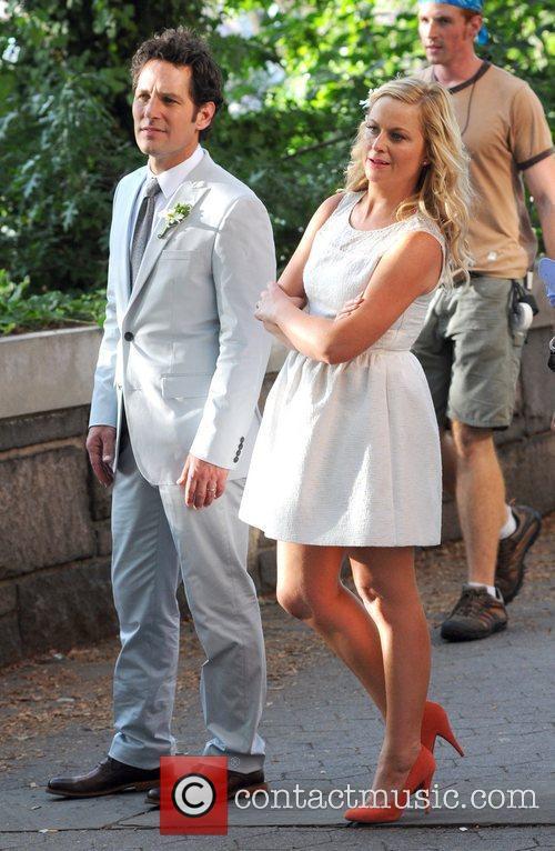 Amy Poehler and Paul Rudd 1