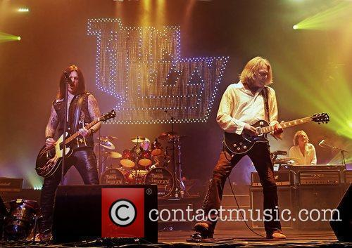 Thin Lizzy performing at Manchester O2 Apollo Manchester,...