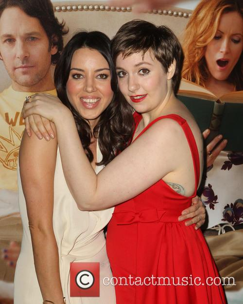 Aubrey Plaza, Lena Dunham, Arrivals and Grauman's Chinese Theatre 5
