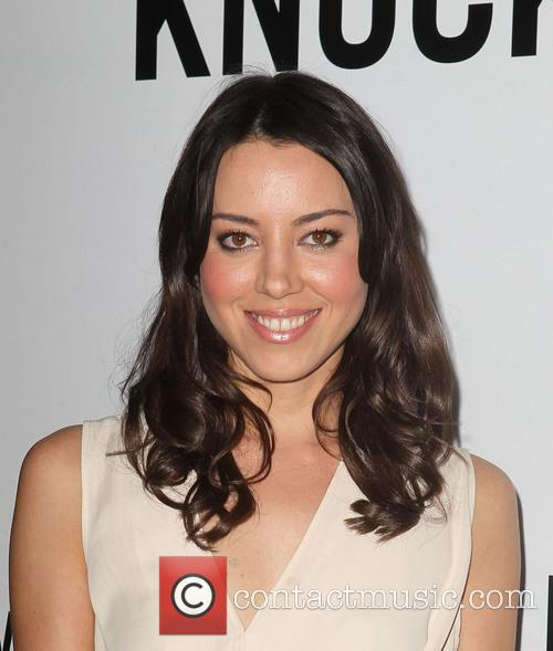 Aubrey Plaza and Grauman's Chinese Theatre 10