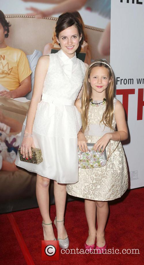 Iris Apatow, Maude Apatow and Grauman's Chinese Theatre 5