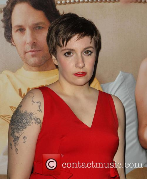 Lena Dunham and Grauman's Chinese Theatre 2