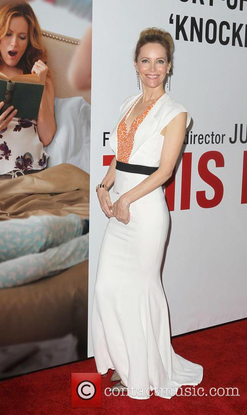 Leslie Mann at This Is 40 Premiere
