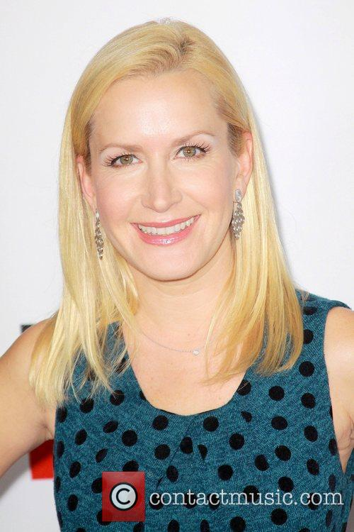 Angela Kinsey and Grauman's Chinese Theatre 4