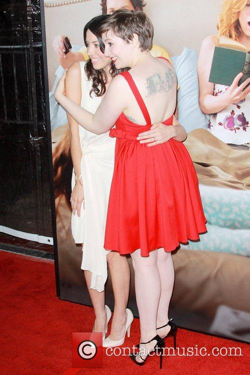 Aubrey Plaza, Lena Dunham and Grauman's Chinese Theatre 11