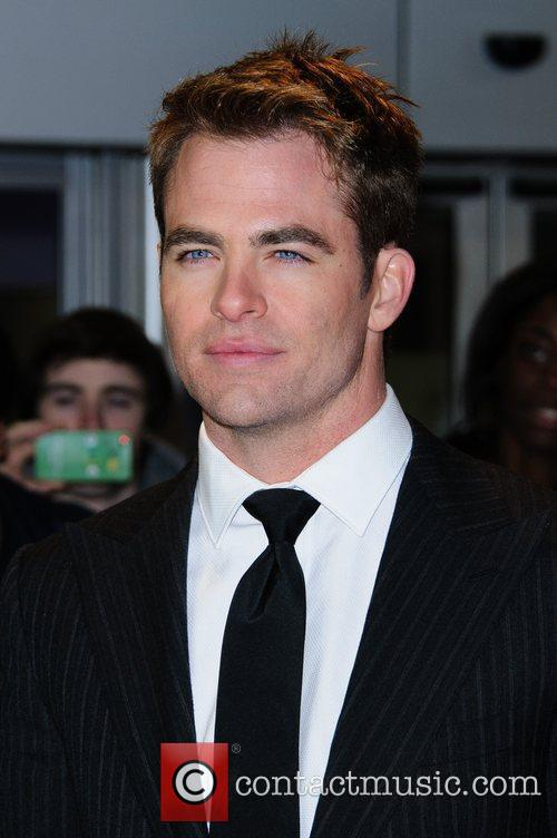 Chris Pine 'This Means War' Uk Premiere held...