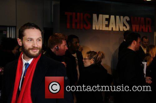 Tom Hardy 'This Means War' Uk Premiere held...