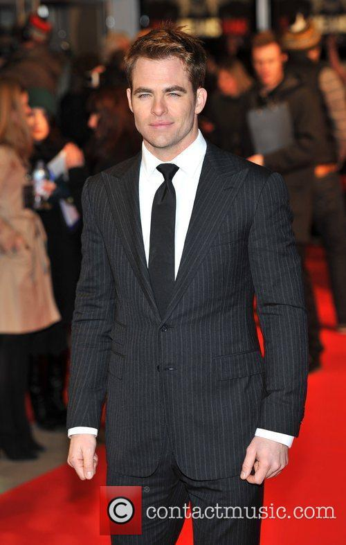 Chris Pine UK Premiere of 'This Means War'...