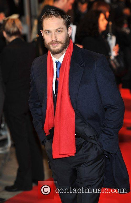 Tom Hardy UK Premiere of 'This Means War'...