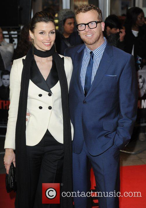 Bridget Moynahan and Joseph McGinty at the premiere...