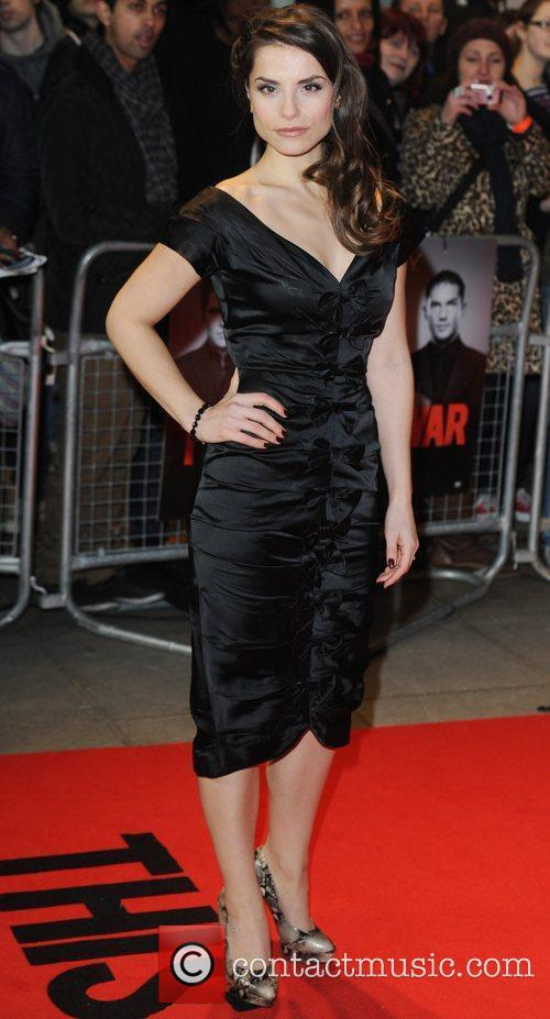 Charlotte Riley at the premiere of This Means...