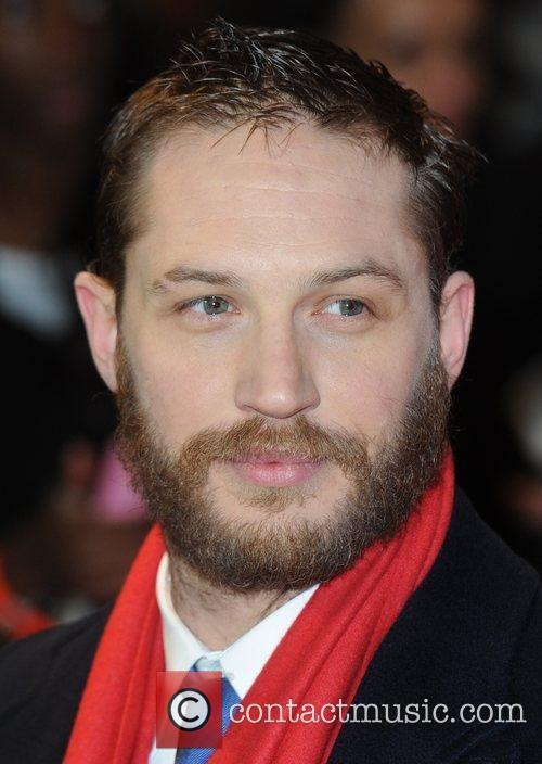 Tom Hardy at the premiere of This Means...
