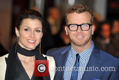 Bridget Moynahan and Joseph McGinty UK Premiere of...