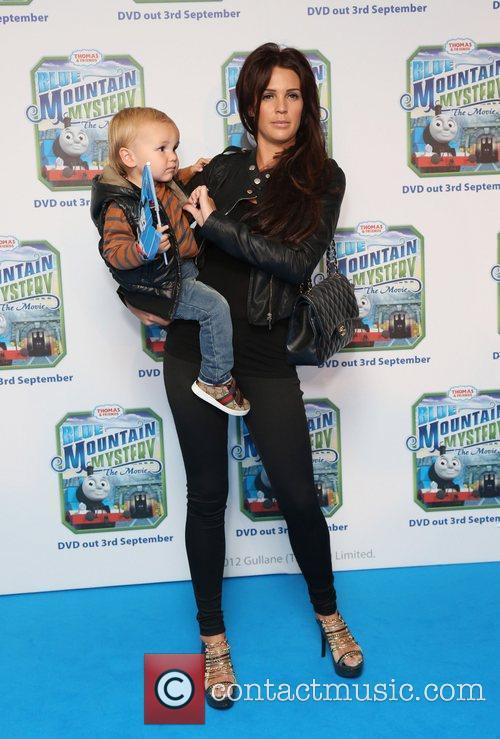 Danielle Lloyd and son Archie Thomas & Friends...