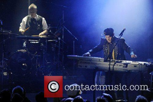 thomas dolby performs on stage at the 3811113