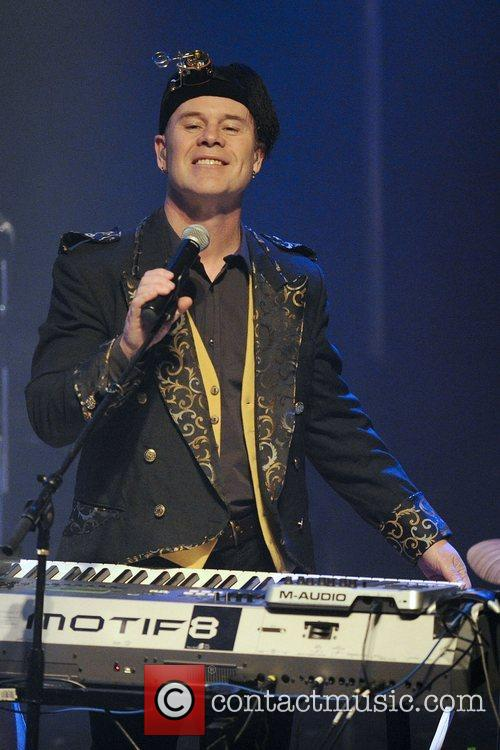 thomas dolby performs on stage at the 3811114