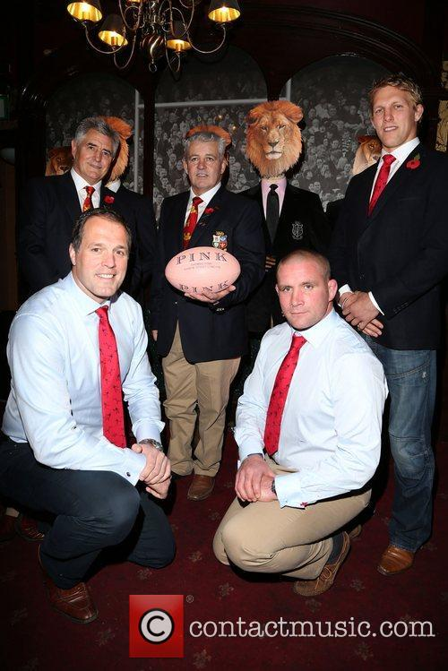 Martin Bayfield, Lewis Moody, Warren Gatland, Andy Irvine...