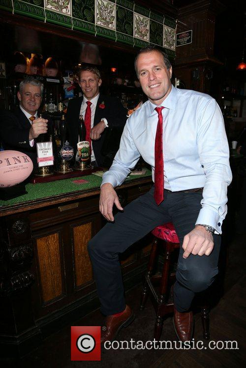 Martin Bayfield, Warren Gatland Photo call Thomas Pink...
