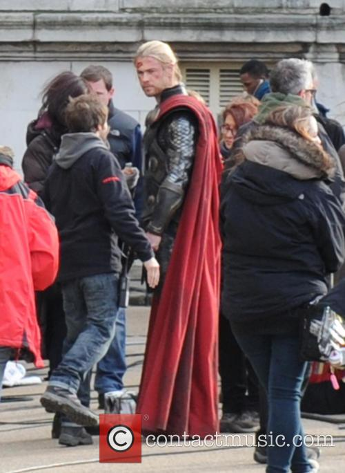 Chris Hemsworth and Thor 2