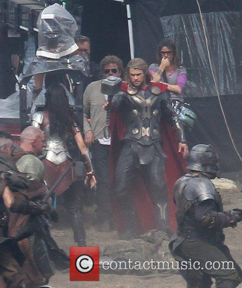 Chris Hemsworth and Thor 7