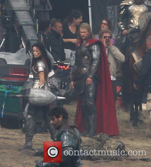 Chris Hemsworth and Thor 11