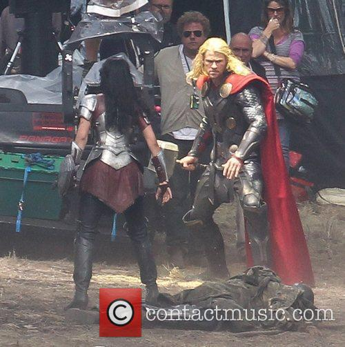 Chris Hemsworth and Thor 13