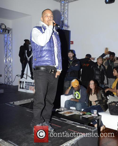 TI listening Party at Sigma Sound for his...
