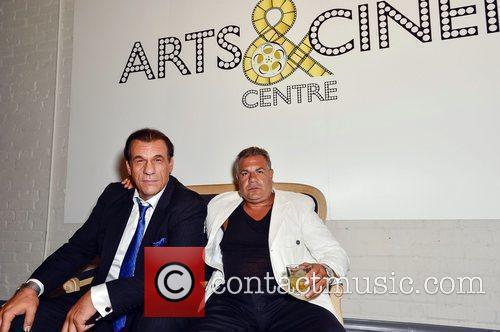 Robert Davi and guest 2012 Toronto Film Festival...