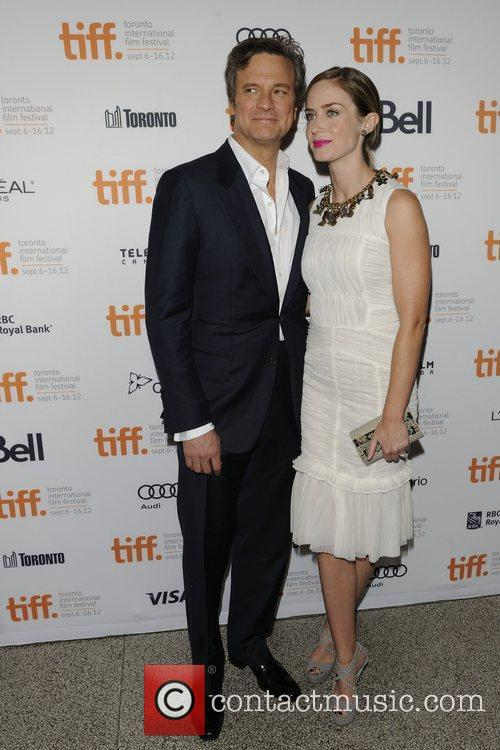 Colin Firth and Emily Blunt 2