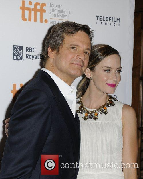Colin Firth and Emily Blunt 3