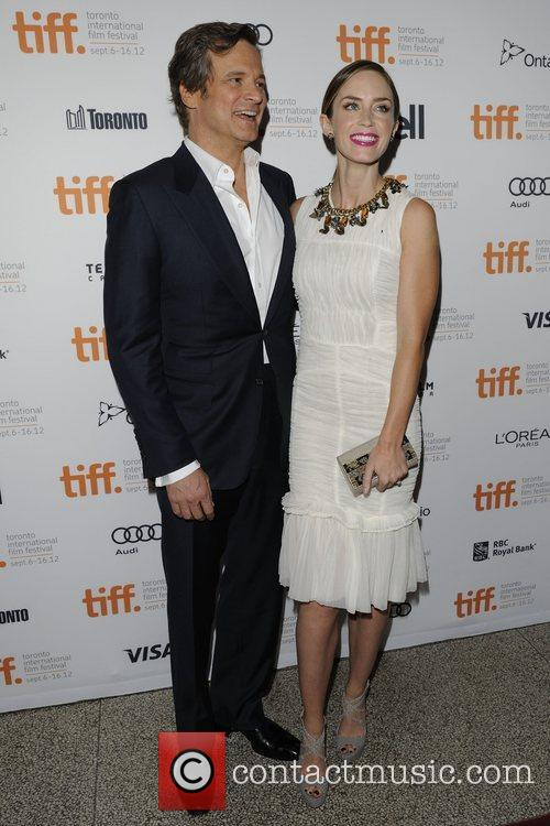 Colin Firth and Emily Blunt 4