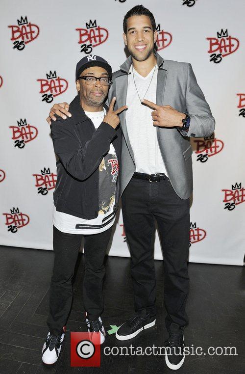 Spike Lee and Landry Fields  2012 Toronto...
