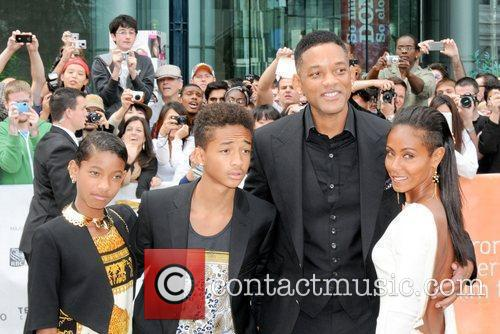 Willow Smith, Jada Pinkett-smith, Jaden Smith and Will Smith 3