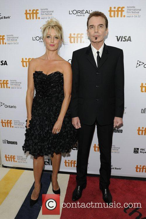 Katherine LaNasa and Billy Bob Thornton  2012...