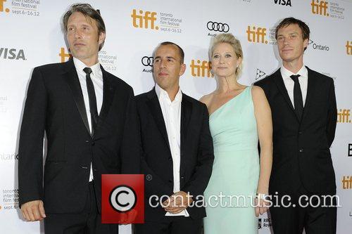 Mads Mikkelsen, Rasmus and Trine Dyrholm 2