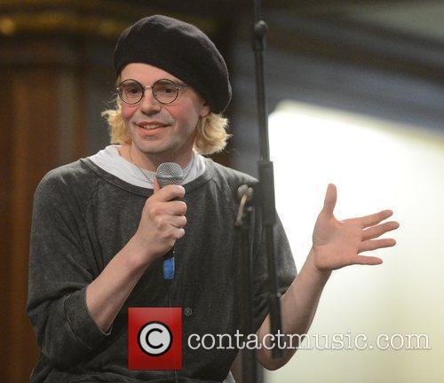 Tim Burgess at a talk and signing at...