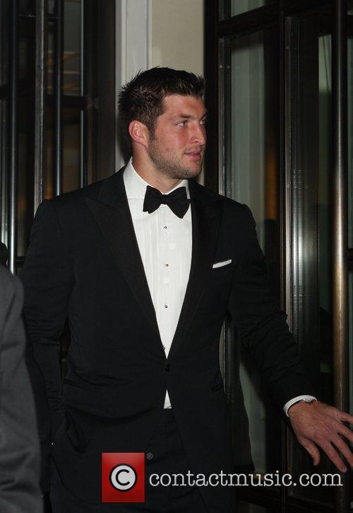 New York Jets Quarterback Tim Tebow  seen...