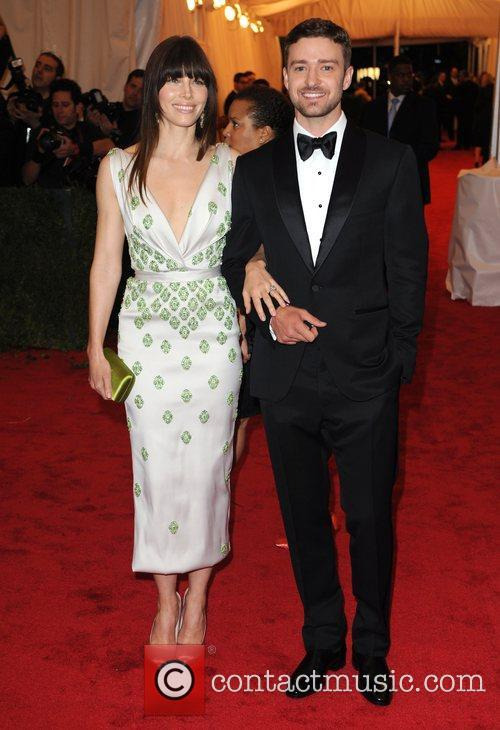 *file photos Jessica Biel and Justin Timberlake have...