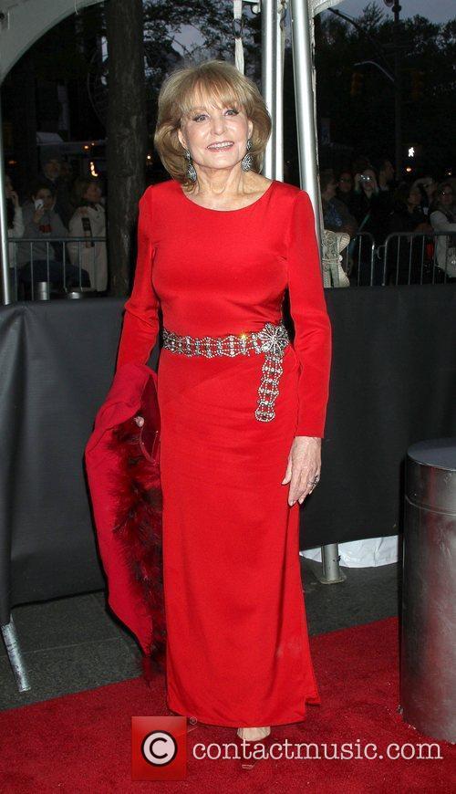 Barbara Walters,  at the Time 100 Gala...