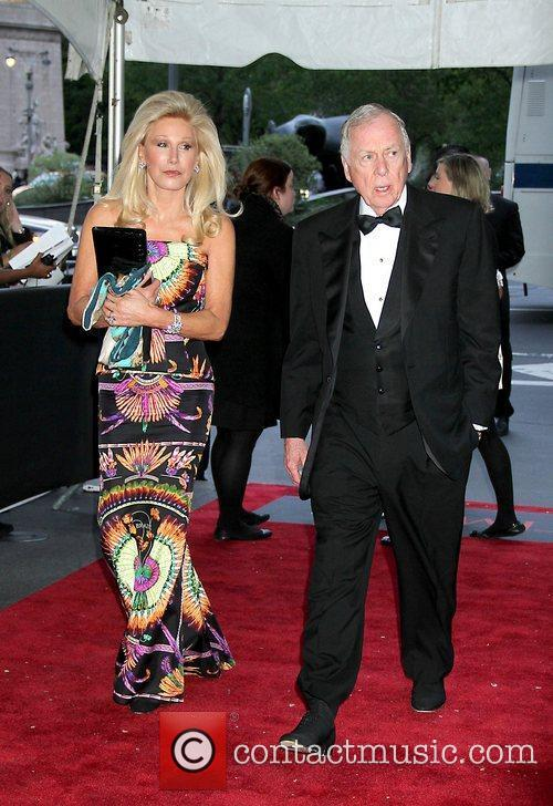 Madeleine Pickens and T. Boone Pickens,  at...