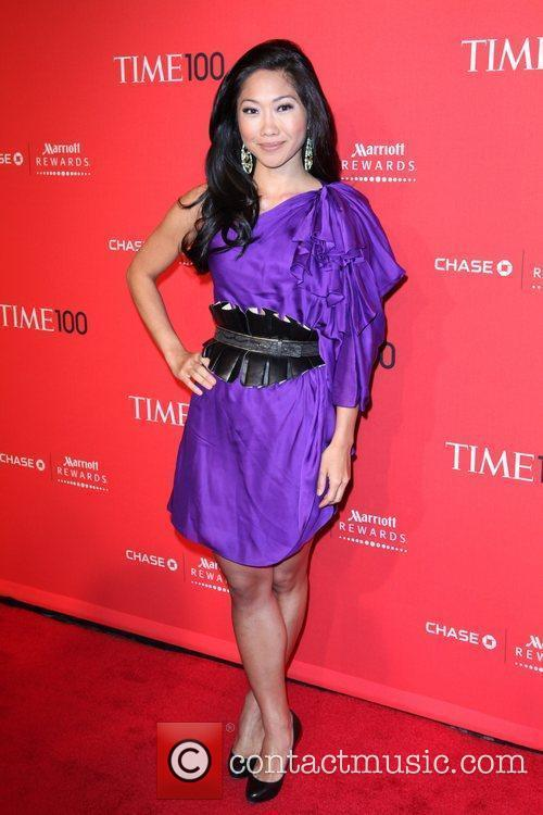 Fox 5 Julie Chang at the Time 100...