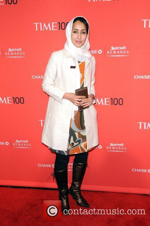 Manal al-Sharif  2012 Time 100 Gala held...