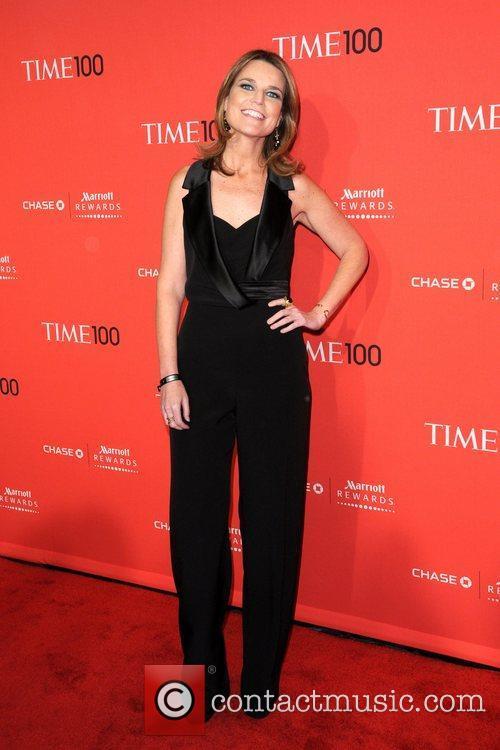 Savannah Guthrie  2012 Time 100 Gala held...