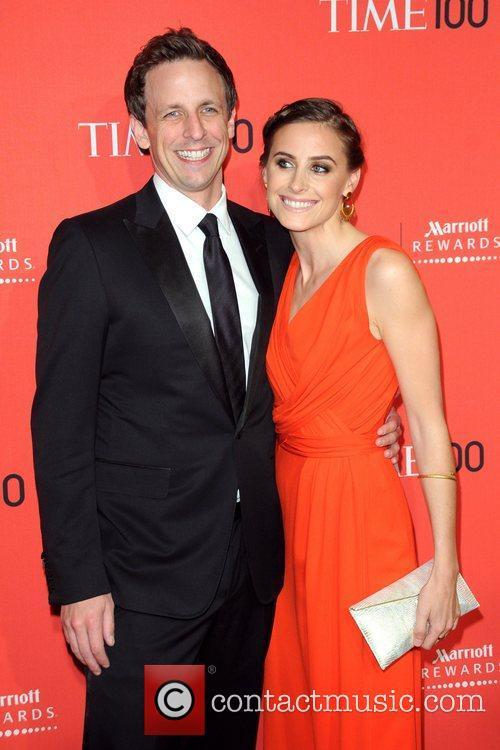 Seth Meyers and Alexi Ashe 2012 Time 100...