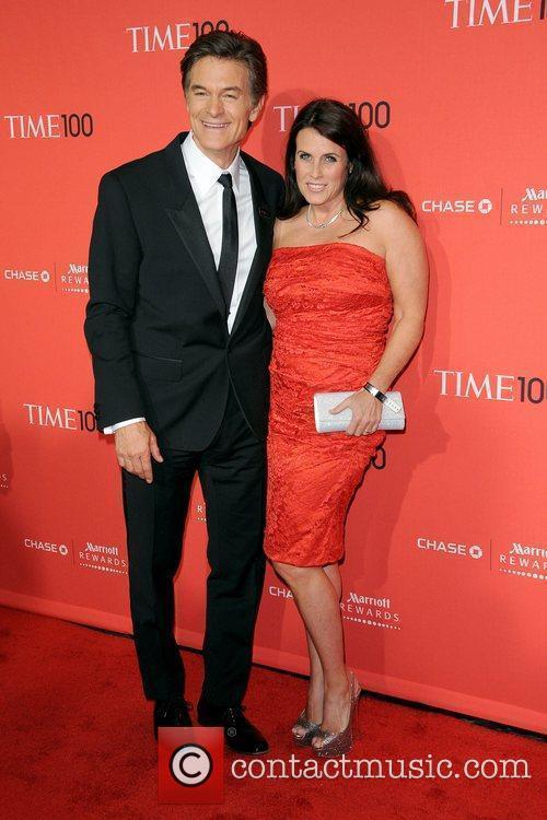 Dr. Mehmet Oz and his wife Lisa...