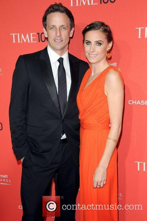 Seth Meyers and Alexi Ashe The Time 100...