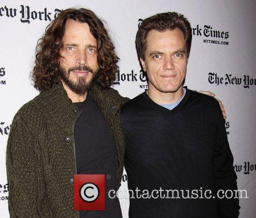 Chris Cornell and Michael Shannon  2012 NY...