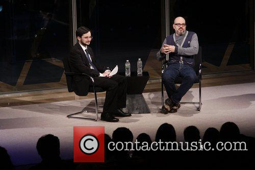 Dave Itzkoff and David Cross  2012 NY...